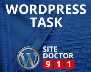 WordPress Task
